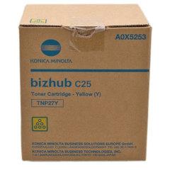 Toner do tiskárny Originální toner Minolta TNP-27Y (A0X5253) (Žlutý)
