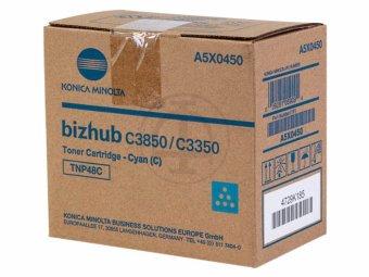 Originální toner Minolta A5X0450 (Azurový)