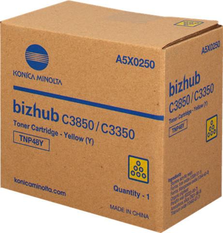 Originální toner Minolta A5X0250 (Žlutý)
