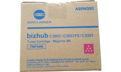Toner do tiskárny Originální toner Minolta TNP-49M (A95W350) (Purpurový)