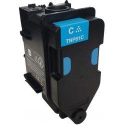 Originální toner Minolta TNP-81C (AAJW451) (Azurový)