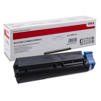 Originální toner OKI 45807111 (Černý)
