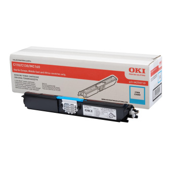 Originální toner OKI 44250719 (Azurový)