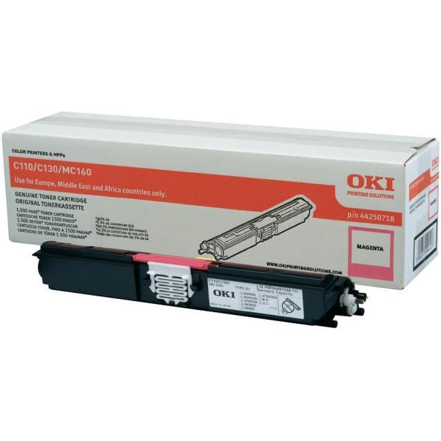 Originální toner OKI 44250718 (Purpurový)