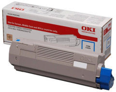 Toner do tiskárny Originální toner OKI 46508715 (Azurový)