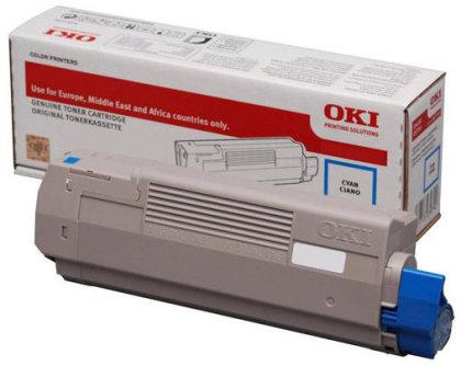 Originální toner OKI 46508715 (Azurový)