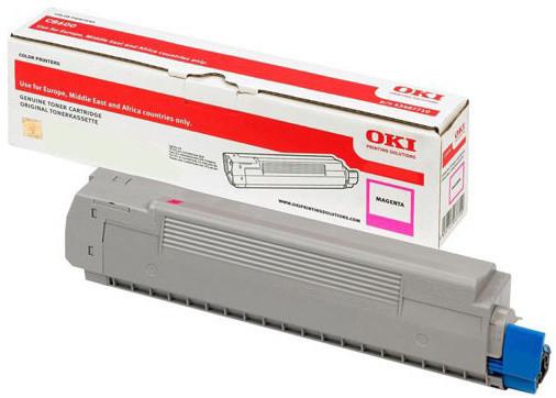 Originální toner OKI 46508714 (Purpurový)
