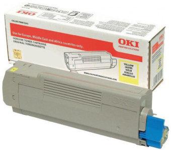Originální toner OKI 46508713 (Žlutý)