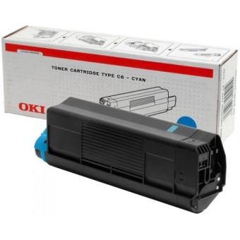 Originální toner OKI 42127407 (Azurový)