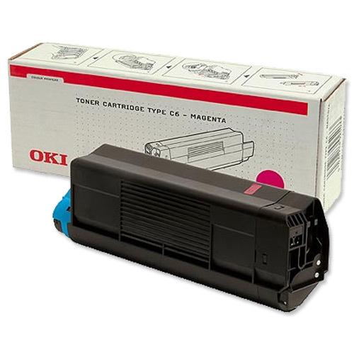 Originální toner OKI 42127406 (Purpurový)