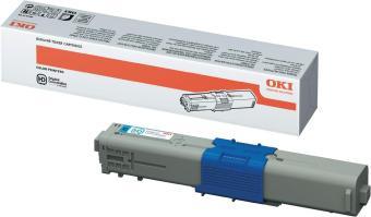 Originální toner OKI 44469724 (Azurový)