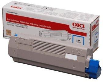 Originální toner OKI 46490607 (Azurový)