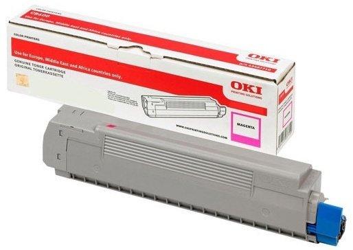 Originální toner OKI 46490606 (Purpurový)