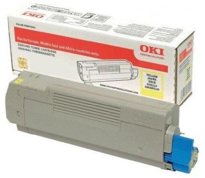 Originální toner OKI 46490401 (Žlutý)