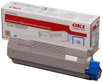 Originální toner OKI 46507507 (Azurový)