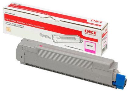 Originální toner OKI 46507506 (Purpurový)
