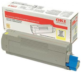 Originální toner OKI 46507505 (Žlutý)