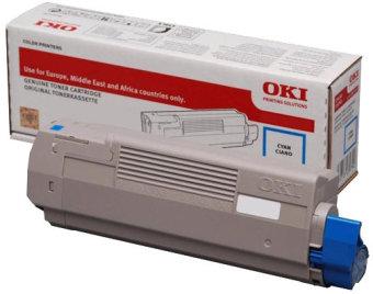 Originální toner OKI 46507615 (Azurový)