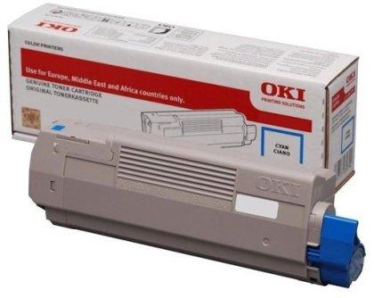 Originální toner OKI 46443103 (Azurový)