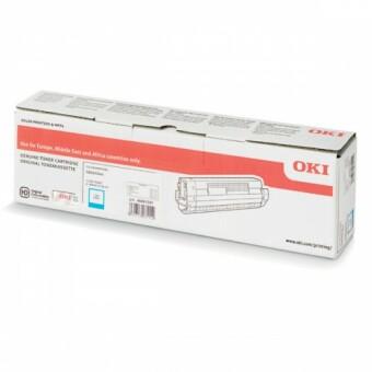 Originální toner OKI 46861307 (Azurový)
