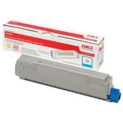 Toner do tiskárny Originální toner OKI 43487711 (Azurový)