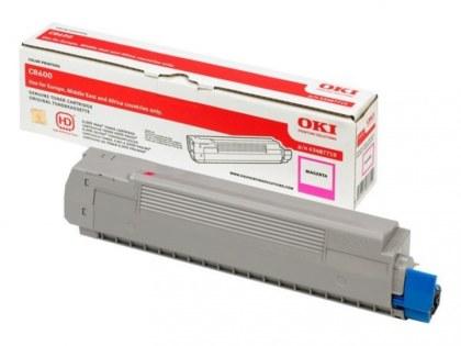 Originální toner OKI 43487710 (Purpurový)