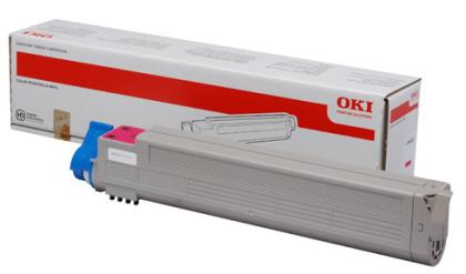 Originální toner OKI 43837130 (Purpurový)