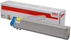 Toner do tiskárny Originální toner OKI 43837129 (Žlutý)