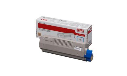 Originální toner OKI 45396303 (Azurový)