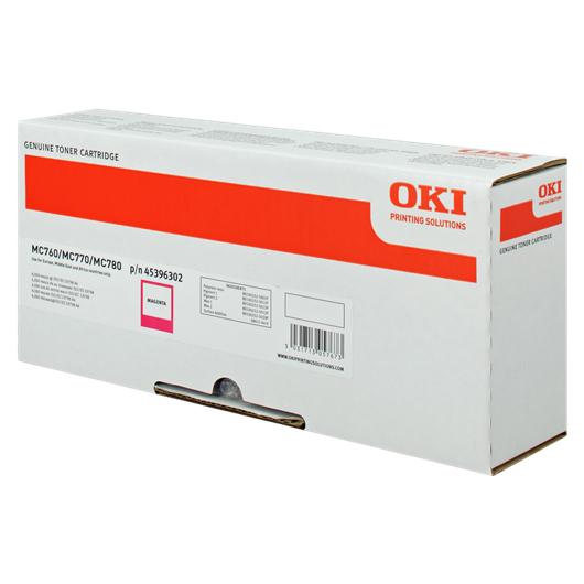 Originální toner OKI 45396302 (Purpurový)