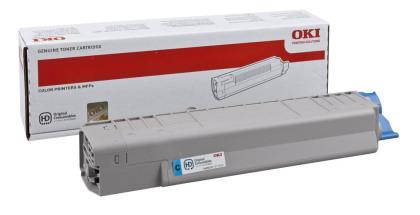 Originální toner OKI 44059167 (Azurový)