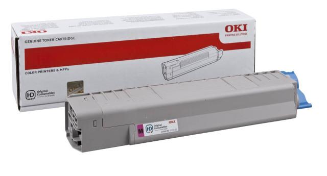 Originální toner OKI 44059166 (Purpurový)