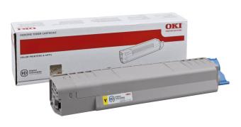 Originální toner OKI 44059165 (Žlutý)