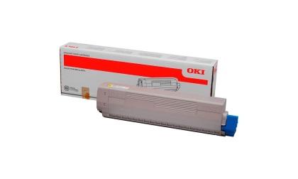 Originální toner OKI 45862837 (Žlutý)
