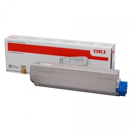 Originální toner OKI 44059255 (Azurový)