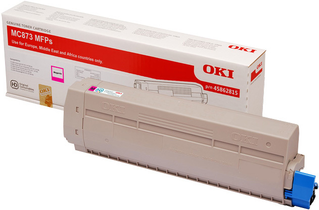 Originální toner OKI 45862815 (Purpurový)