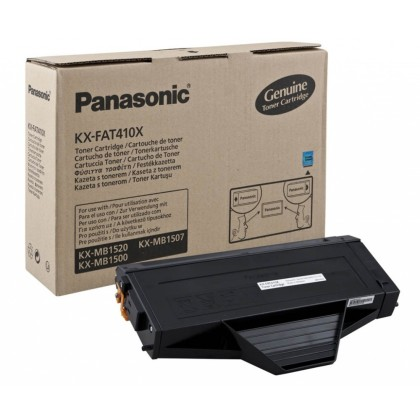 Originální toner Panasonic KX-FAT410X (Černý)