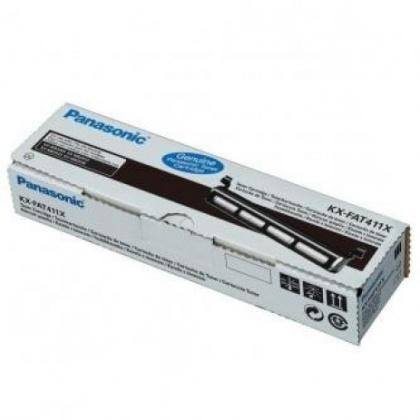 Originální toner Panasonic KX-FAT411X (Černý)