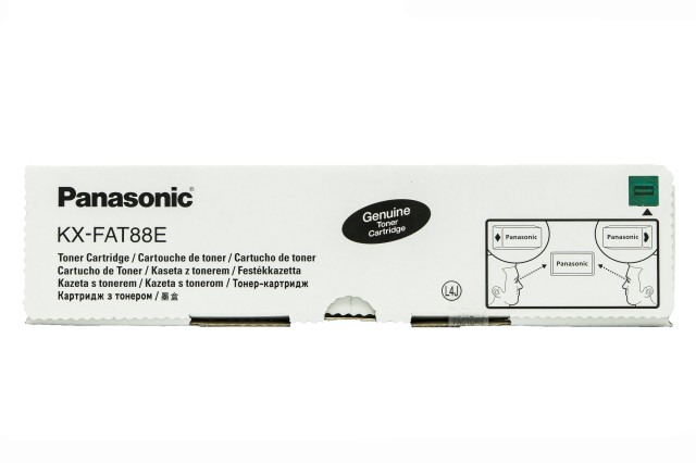 Originální toner Panasonic KX-FAT88E (Černý)