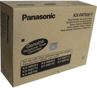 Originální toner Panasonic KX-FAT92E-T (Černý)