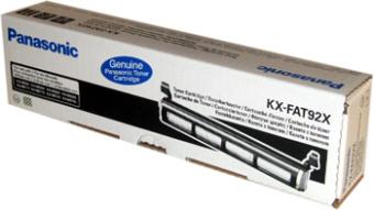 Originální toner Panasonic KX-FAT92X (Černý)
