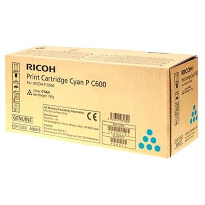 Originální toner Ricoh 408315 (Azurový)