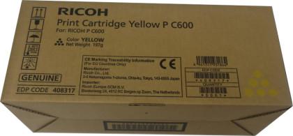 Originální toner Ricoh 408317 (Žlutý)