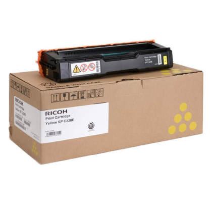 Originální toner Ricoh 406055 (Žlutý)