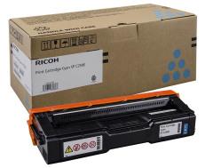Toner do tiskárny Originální toner Ricoh 407544 (Azurový)