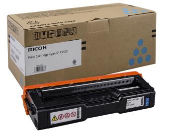 Originální toner Ricoh 407544 (Azurový)