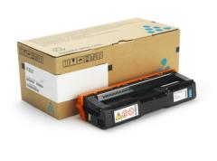 Toner do tiskárny Originální toner Ricoh 407717 (Azurový)