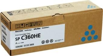 Originální toner Ricoh 408185 (Azurový)