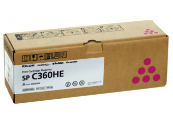 Originální toner Ricoh 408186 (Purpurový)