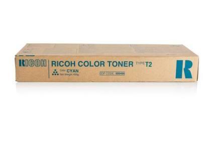 Originální toner Ricoh 888486 (TypT2-C) (Azurový)